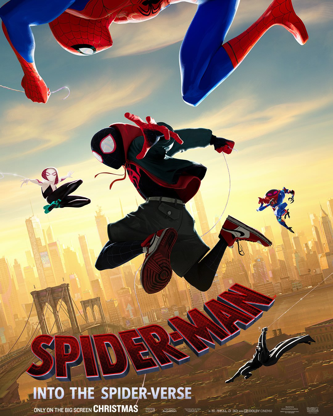 spiderman into the spiderverse poster  why watch that